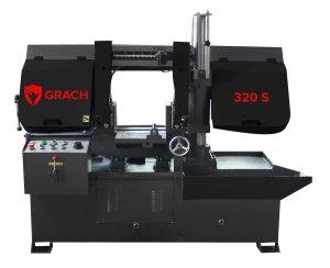 Полуавтоматический станок GRACH 320 S для резки под углом 90 °_0