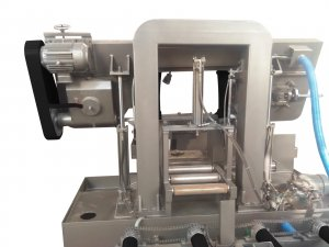 Полуавтоматический станок GRACH G 400 S под углом 90 °_1