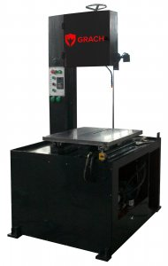 Вертикальный ленточнопильный станок GRACH V2T 500x100 с подвижным столом_0