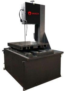 Вертикальный ленточнопильный станок GRACH V2T 500x100 с подвижным столом_2