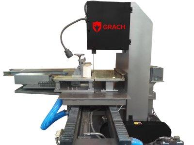 Вертикальный ленточнопильный станок GRACH V2T 500x100 с подвижным столом