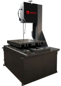 Вертикальный ленточнопильный станок GRACH V2T 500x200 с подвижным столом_2