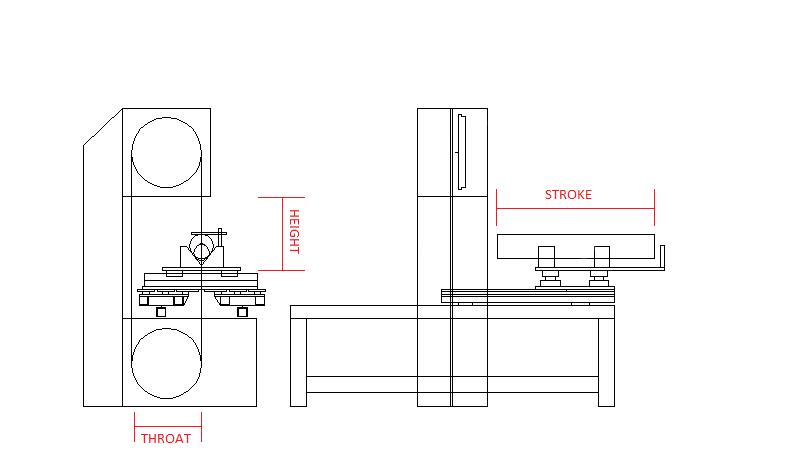 Вертикальный ленточнопильный станок GRACH V2T 500x200 с подвижным столом_7