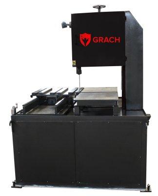 Вертикальный ленточнопильный станок GRACH V2T 500x200 с подвижным столом