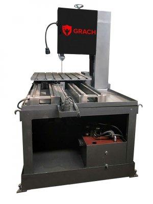 Вертикальный ленточнопильный станок GRACH V2T 1000x200 с подвижным столом