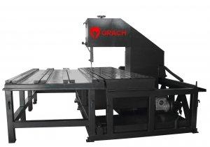 Вертикальный ленточнопильный станок GRACH V3F 1300x200 с подвижной рамой_3