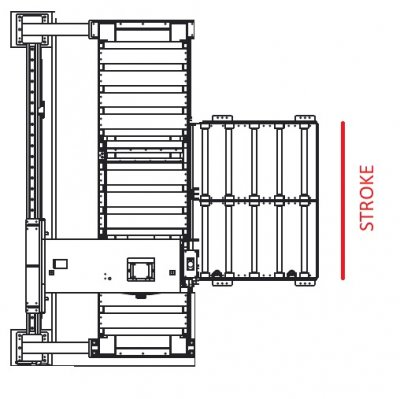 Вертикальный ленточнопильный станок GRACH V3F 1300x200 с подвижной рамой