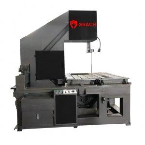 Вертикальный ленточнопильный станок GRACH V3F 1600x400 с подвижной рамой_1
