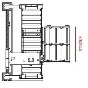 Вертикальный ленточнопильный станок GRACH V3F 1600x400 с подвижной рамой_4