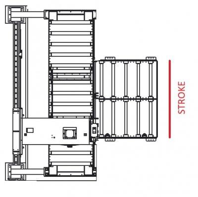 Вертикальный ленточнопильный станок GRACH V3F 1600x400 с подвижной рамой
