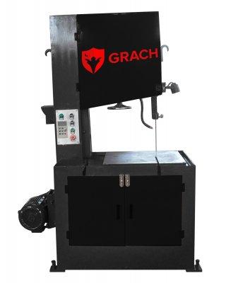Вертикальный ленточнопильный станок GRACH V2M 600х120 с ручной подачей заготовки