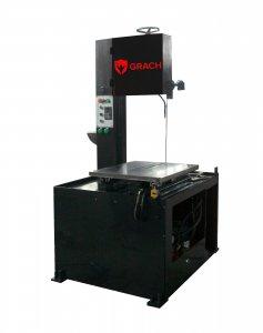 Вертикальный ленточнопильный станок GRACH V2M 400х100 с ручной подачей заготовки_0