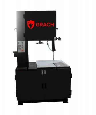 Вертикальный ленточнопильный станок GRACH V2M 400х100 с ручной подачей заготовки