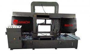 Полуавтоматический станок GRACH 860 S для резки под углом 90 °