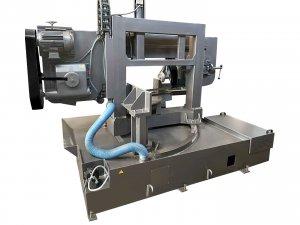 Полуавтоматический станок GRACH G 400 S M для резки под углом 45 - 90 °_1