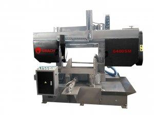 Полуавтоматический станок GRACH G 400 S M для резки под углом 45 - 90 °